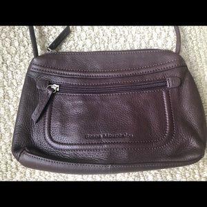 EUC genuine leather crossbody